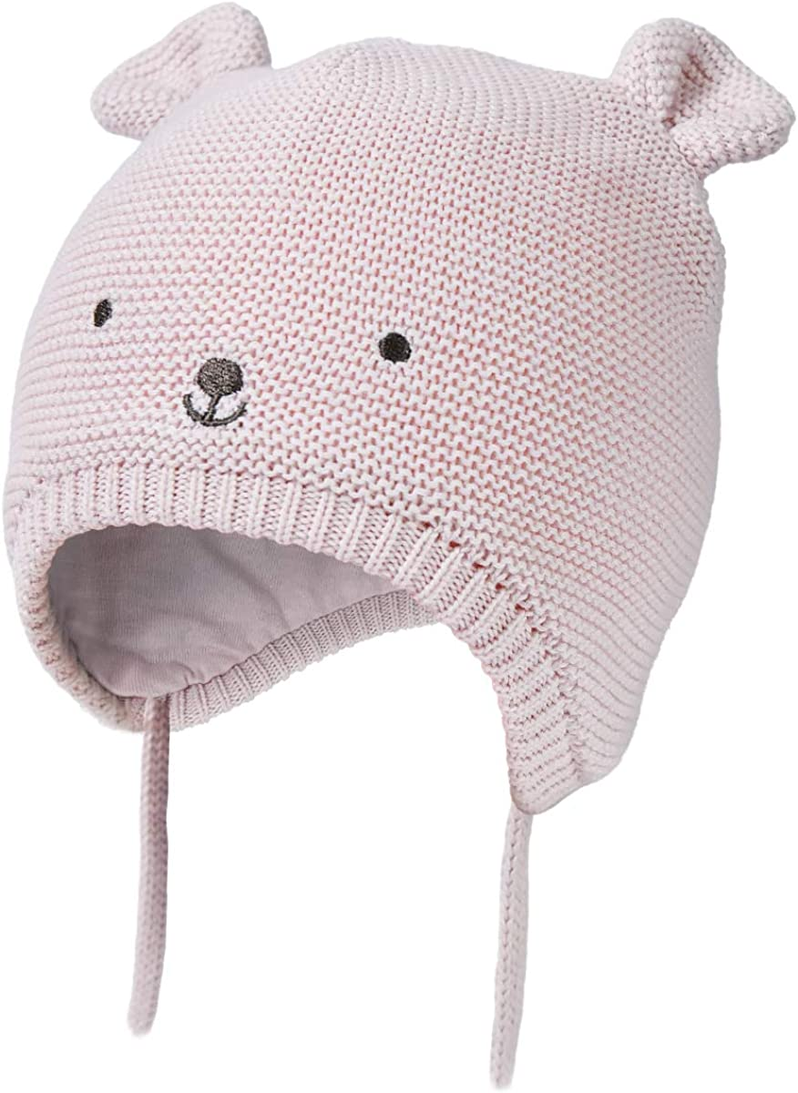 Baby Winter Hat Baby Bonnet Newborn Hat Pom Pom Hat Baby Gift Baby Bear Bonnet Toddler Kids Hat Baby Hat