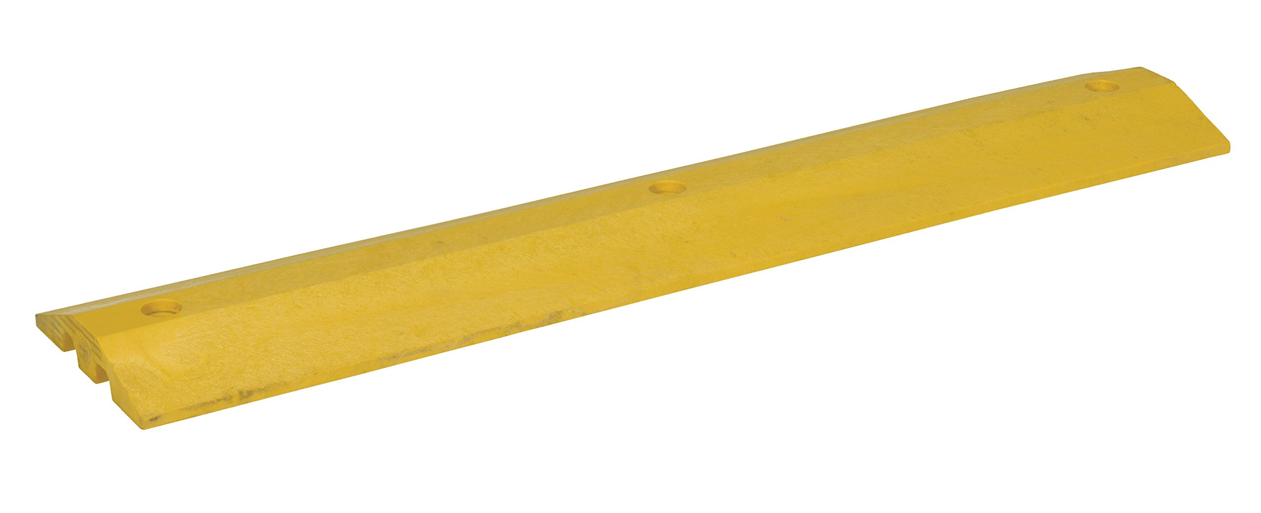 Vestil SB-48 Speed Bump with Concrete Hardware, Plastic, 48'' Length, 10'' Width, 2'' Height