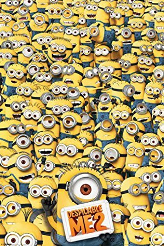 Despicable Me 2 Many Minions Poster