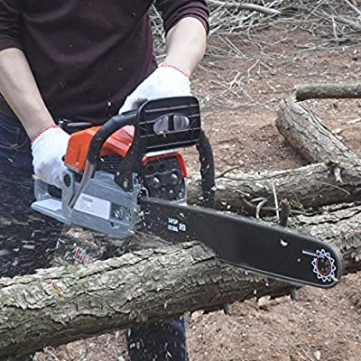 "ncient ChainSaw 20"" 52CC Gas Powered Chain Saw 2 Stroke 3.0HP Handed Petrol Chainsaw with Smart Start Super Air Filter System and Automatic Oiling and Tool Kit"