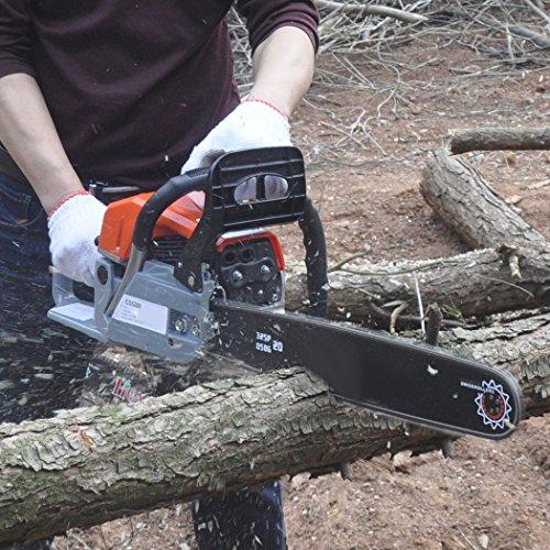 [해외]고대 체인 톱 20 52CC 가스 구동 체인 톱 2 스트로크 3.0HP 스마트 스타트 슈퍼 에어 필터 시스템 및 자동 오일 링 시스템/ncient ChainSaw 20  52CC Gas Powered Chain Saw 2 Stroke 3.0HP Handed Petrol Chainsaw with Smart Start Super Air Filt...