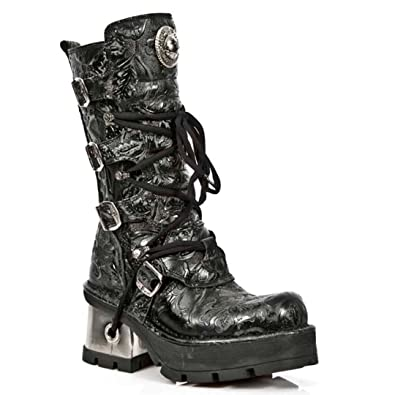 NEWROCK NR M.373 QS3 Black - New Rock Boots - Womens