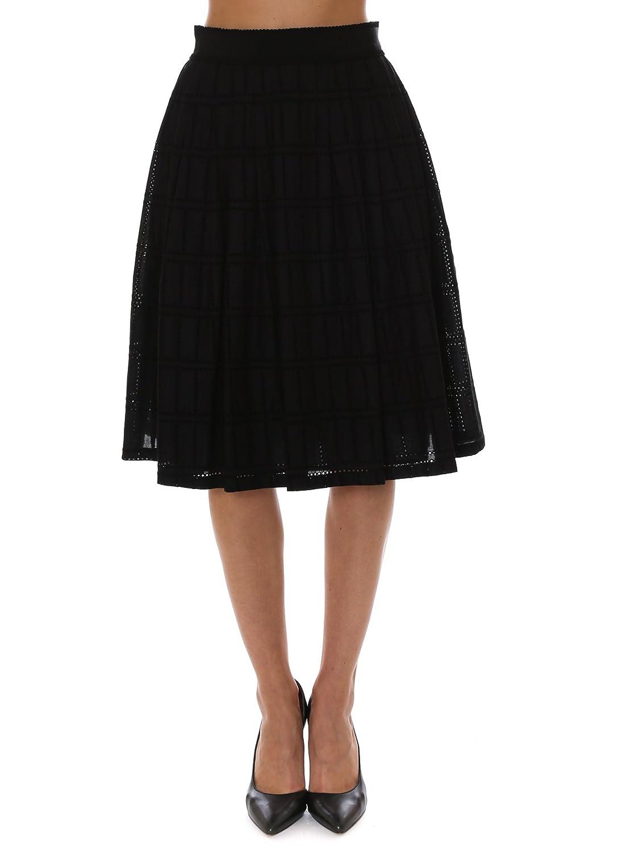 Skirt for Women On Sale, Black, Cotton, 2017, 30 Blumarine