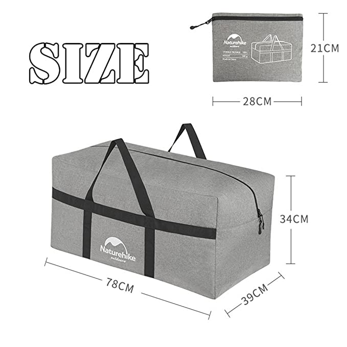 9ae407b190fe Amazon.com: Naturehike 100L Large Capacity Outdoor Storage Bag ...