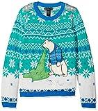 Blizzard Bay Boys' Polar Bear Light up Vomit Sweater