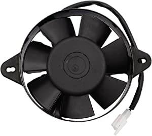 GOOFIT Radiator Cooling Fan for CG 200cc 250cc Vertial Engine Water Cooled ATV Quad Go-kart