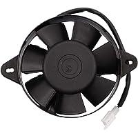 GOOFIT Ventilador Radiador 12V Moto DC Refrigerante Redondo
