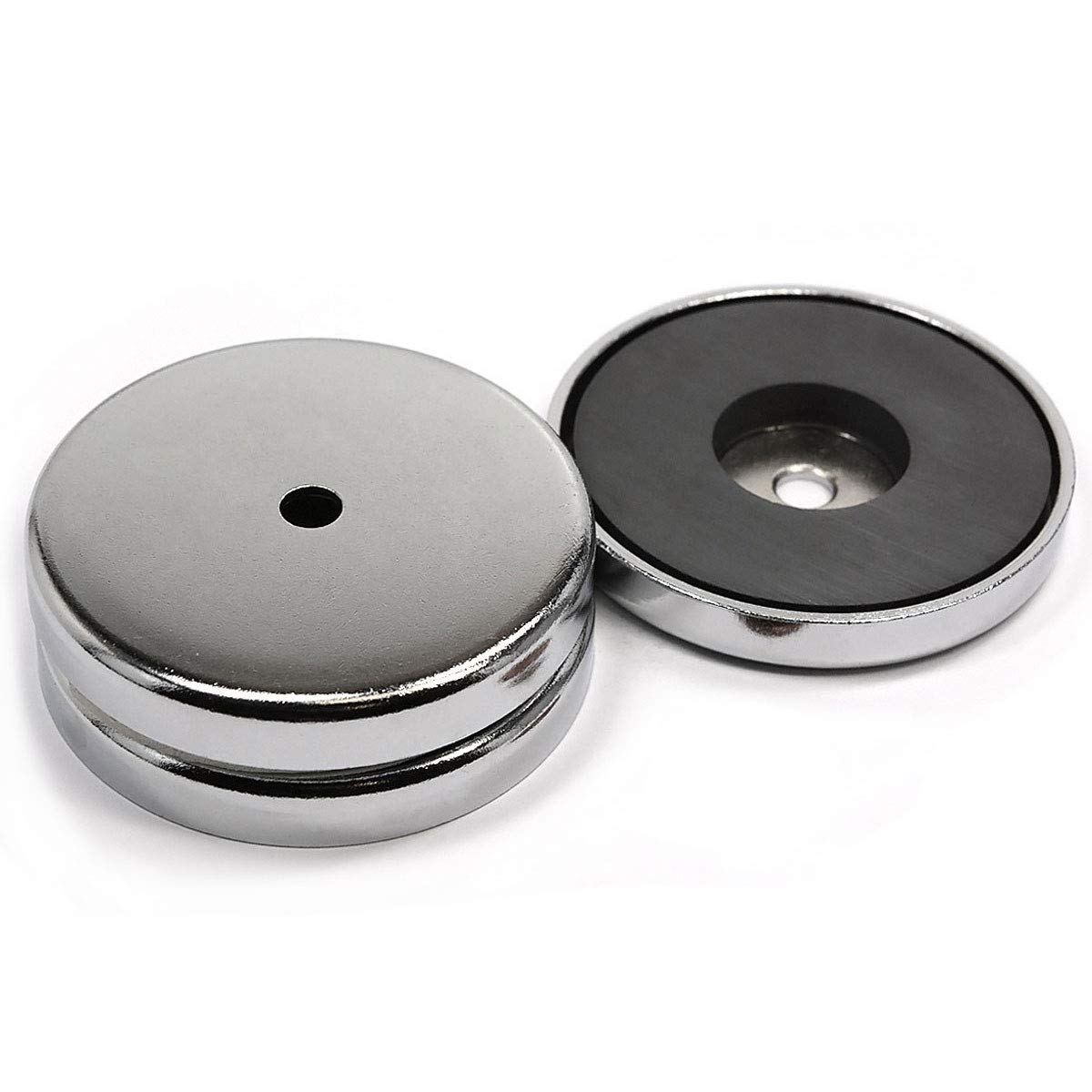 CMS Magnetics Powerful Cup Magnets 80 LB Pulling Power Diameter 2.65'' RB70 3 Pieces of by CMS Magnetics (Image #1)