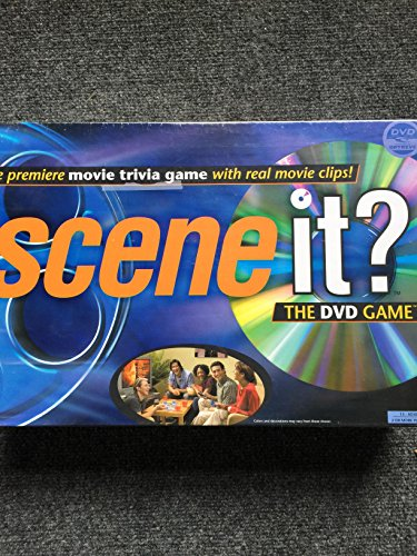 Edition Dvd Board Game - Scene it? Movie Edition DVD Game
