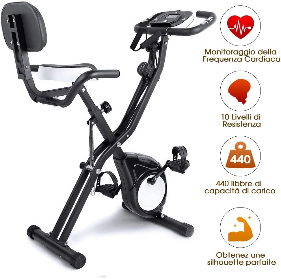 Evoland - Bicicleta estática de entrenamiento, para entrenamiento en casa, con sistema S-Bike, 100 kg de capacidad (S-Design): Amazon.es: Deportes y aire libre