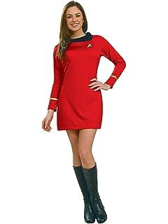 Amazon.com: LACKINGONE Uniform Star Trek TOS - Disfraz de ...