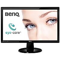 BenQ GL2450-T 61 cm (24 Zoll) Monitor (DVID, VGA, 5ms Reaktionszeit) schwarz
