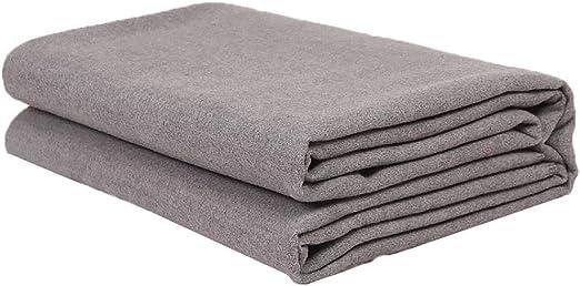 Manta de Yoga de relajación Alta Densidad Peluda 100% algodón ...