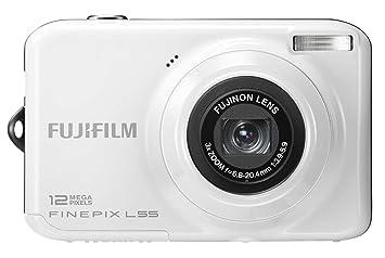 fujifilm finepix l55 digital camera white 2 4 inch amazon co uk rh amazon co uk