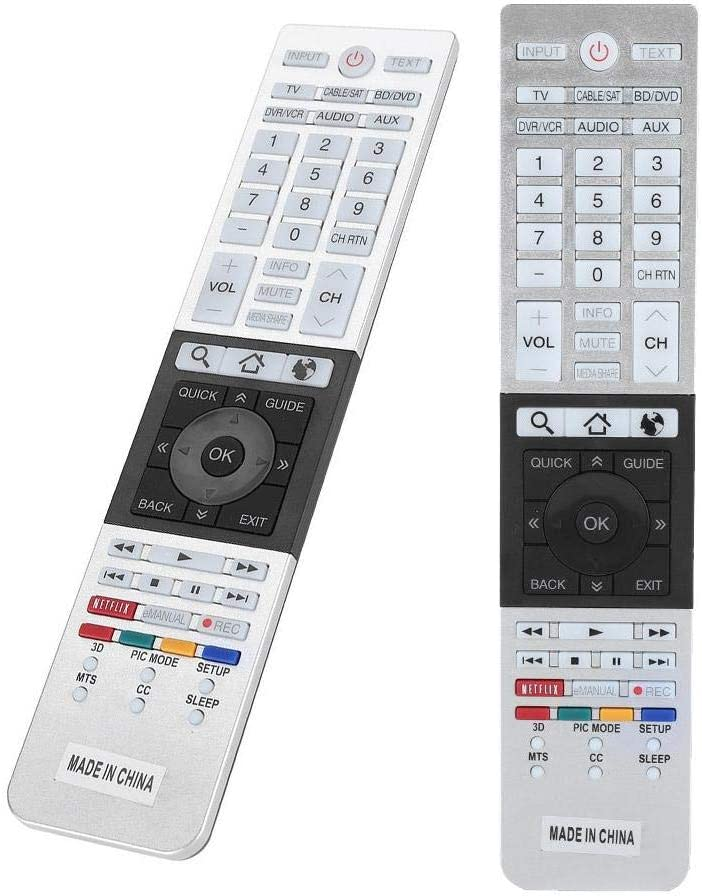 Vbestlife Hd Tv Remote Control Replacement For Toshiba Elektronik
