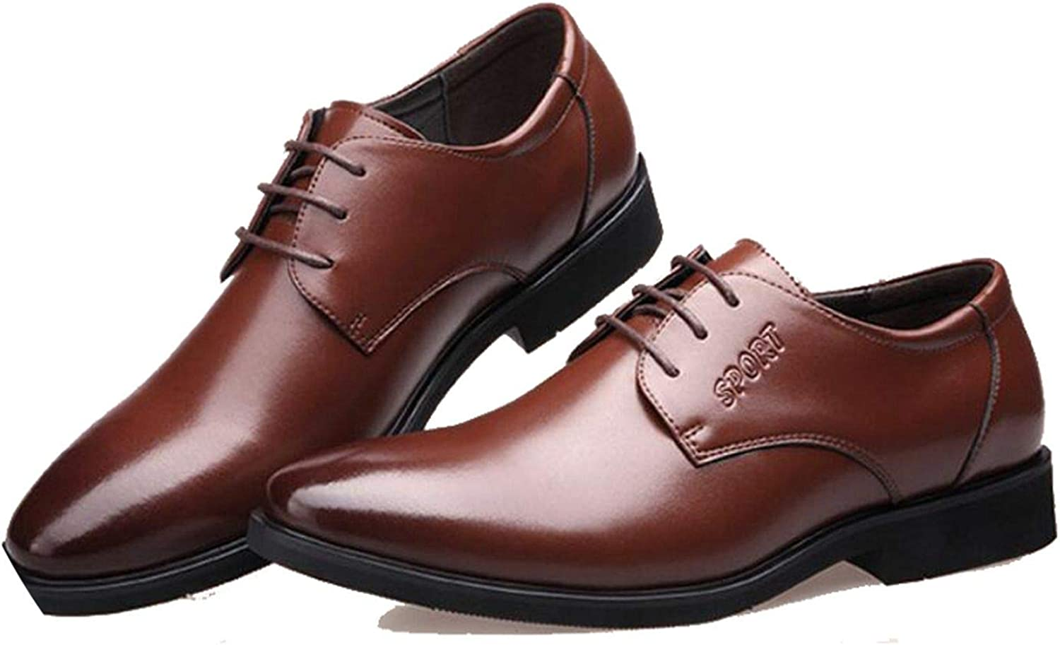 New on Oxford Men Leather Spring Autumn Men Casual Flat Genuine Leather Men Shoes Business Shoes