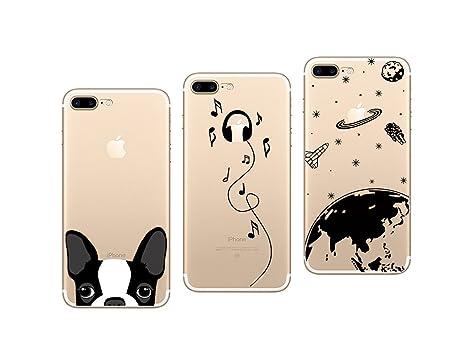 coque iphone 8 pack de 3