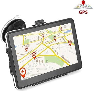 Gps Navi Navigation Für Auto 7 Zoll Touchscreen 8g Autoradio Unterstützung Fm Übertragung Lebenslang Kostenloses Kartenupdate Eu 52 Karten Und Nordamerika Auto