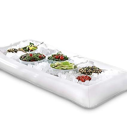 amazon com novelty place large size inflatable ice serving buffet rh amazon com inflatable ice bar buffet