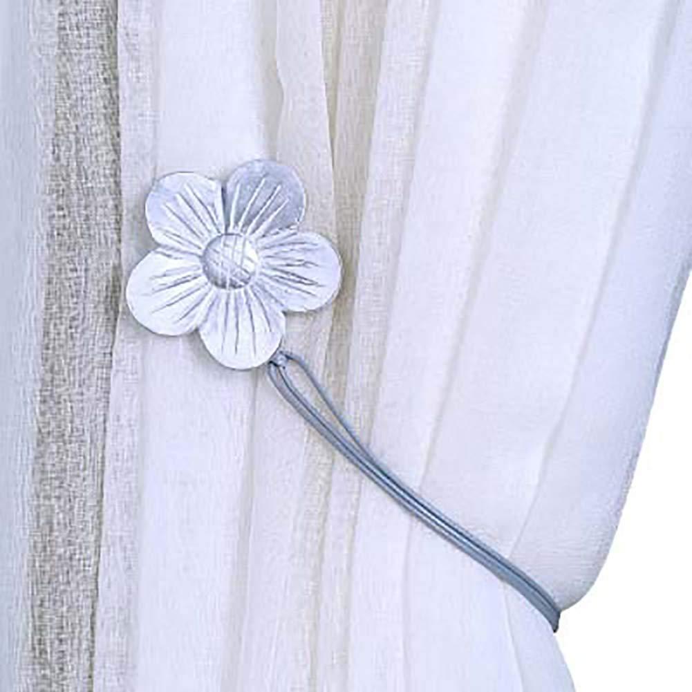 Originaltree mini Emisferica magnetico finestra tenda fibbia Tiebacks clip Holder Home Decor, Blue, taglia unica