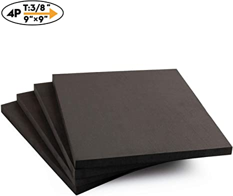 AKTRADING CO Seat Replacement, Upholstery Sheet, Foam Padding, Acoustic Foam Sheet 5 H X 24 W X 72 L CertiPUR-US Certified Rubber Foam Sheet Cushion