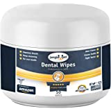 Jungle Pet Dental Wipes - Reduce Plaque, CALCULUS & Tartar - Fight Bad Breath - {Peppermint Scent}