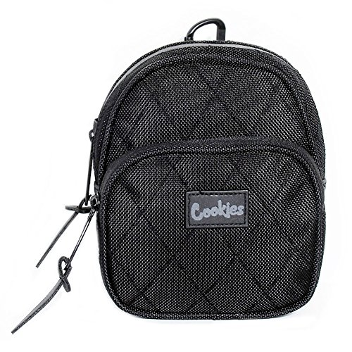 Cookies SF Berner Men's V2 1680 Quilted Nylon Mini Smell Proof Pack Black by Cookies SF