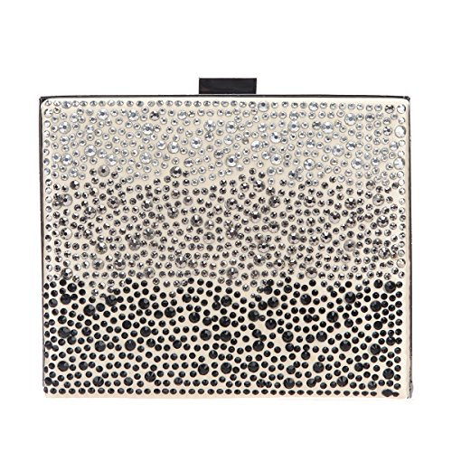 Apricot and Clutch Bonjanvye Women for Diamonds Bags Handbags Fashion Evening Purses 661wvq