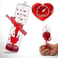 Aşk Ölçer Sevgililer Günü Hediyesi Kalpli Aşk Testi Kum Saati Gibi Aşk Ölçer Oyunu Sevgiliye Hediye