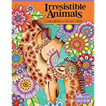 Hello Angel Irresistible Animals Coloring Collection