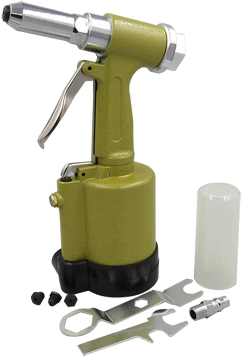 Portable Practica Pneumatic Products Hydraulic Pneumatic Rivet Stainless Steel Blind Rivet Industrial Grade Three-jaw Riveting Tool Hand Tools Industrial Color : Gold