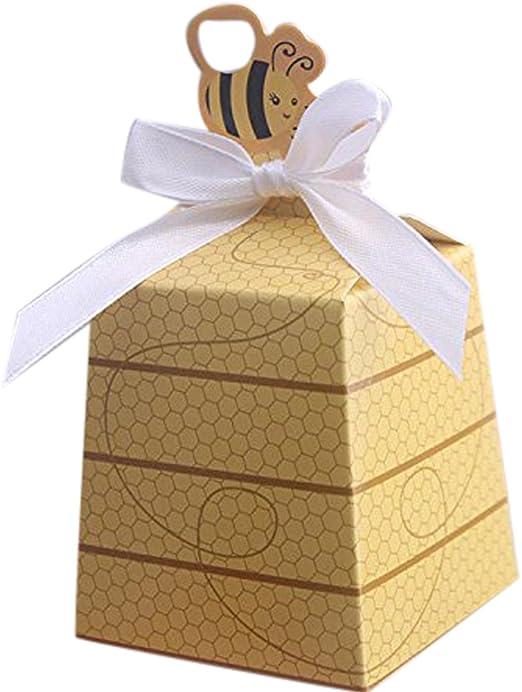 Caja confitera, para detalle de bautizo, primera comunión ...