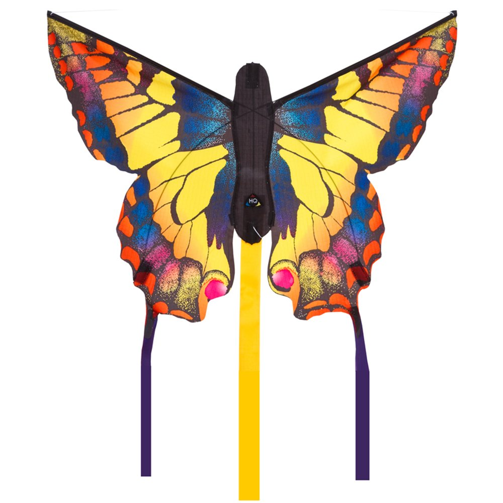 HQ Kites Swallowtail R Butterfly Kite   20 Inch Single - Line Kite with Tail - Active Outdoor Fun for Ages 5 and Up by HQ Kites and Designs (Image #1)