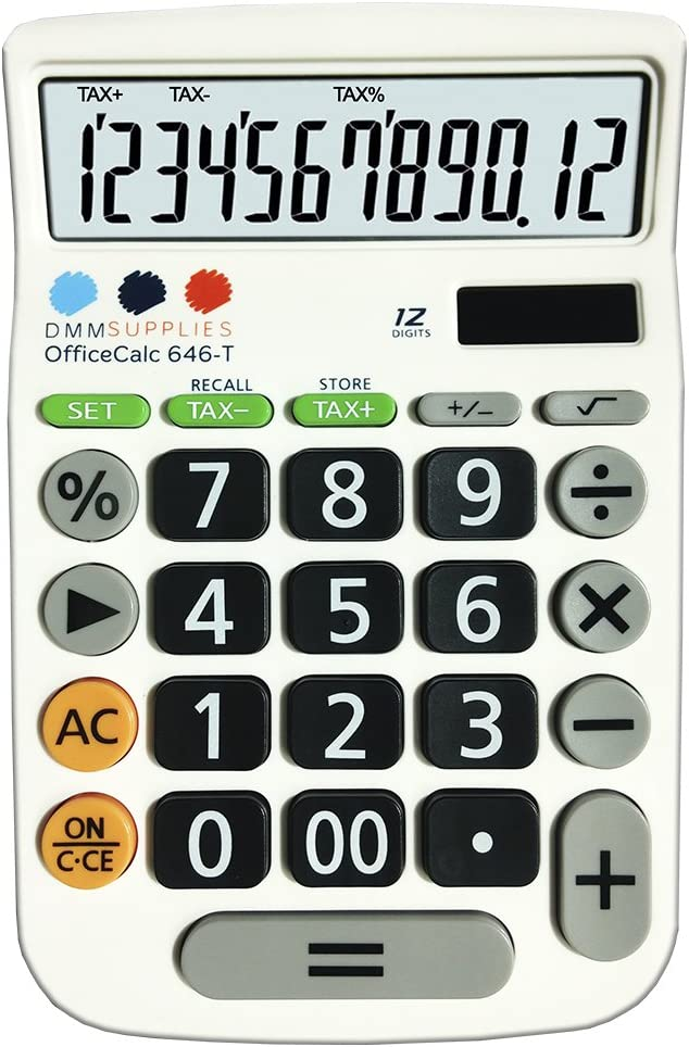 Calculadora de oficina DMM Supplies 646-T