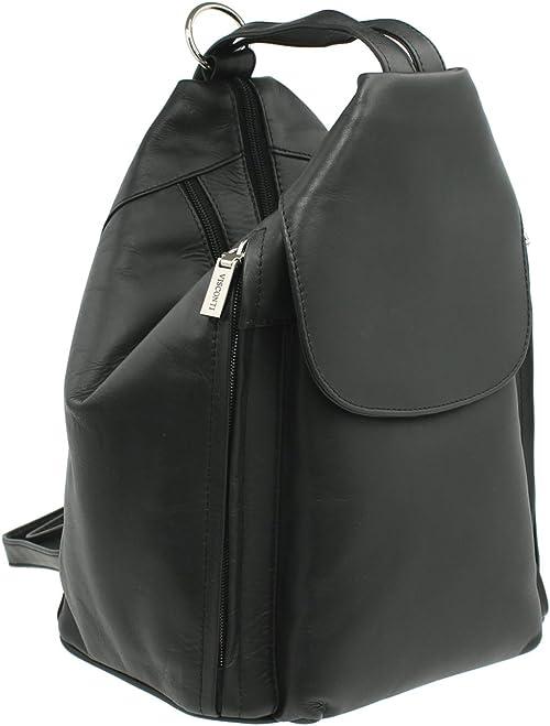 Best Seller 18258 Ladies Backpack Brooke Back Pack Red VISCONTI Atlantic Backpacks Collection