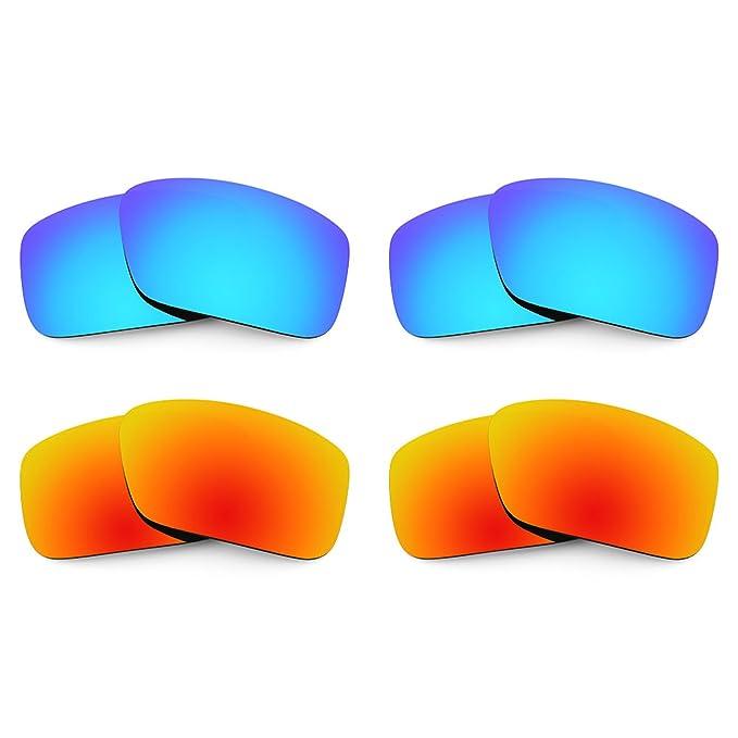 Revant Combo de 4 pares de lentes polarizados, de reemplazo, para Arnette Big Deal