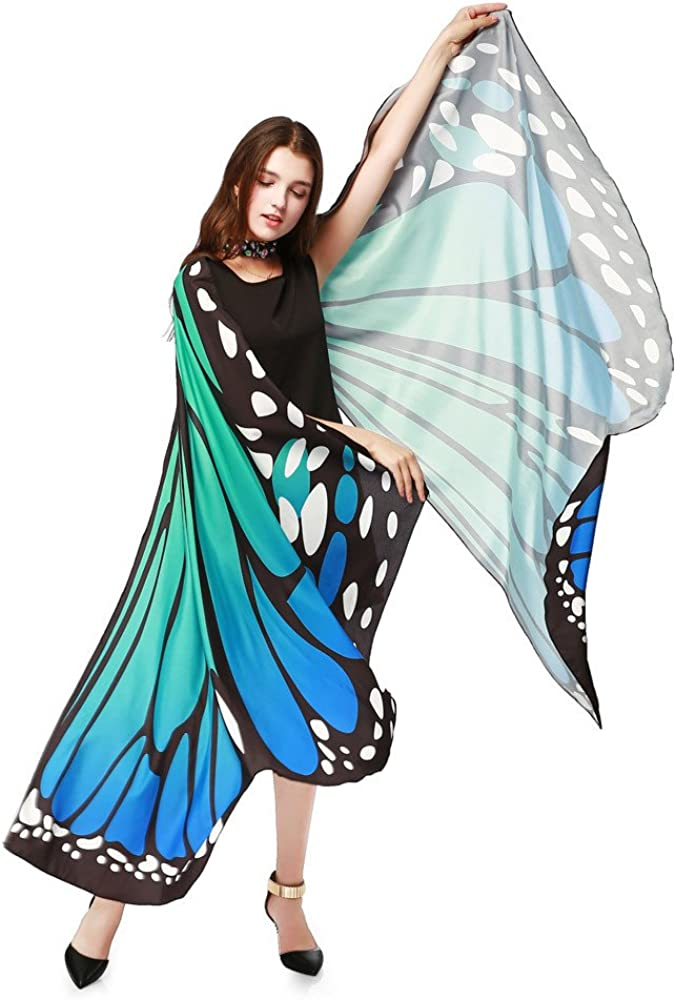 OverDose Adult Monarch Butterfly Wings Dancing Costume Accessory