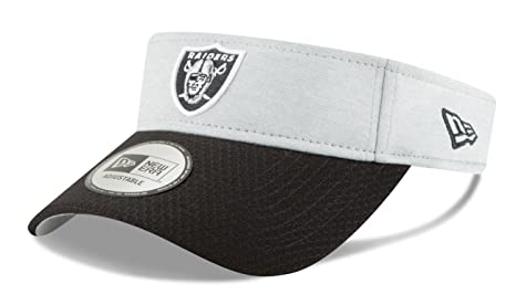 Image Unavailable. Image not available for. Color  New Era Oakland Raiders  NFL 2018 Official Sideline Performance Visor 947a3fa00
