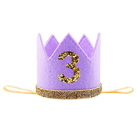 luerme corona princesa sombrero cumpleaños bebé 0 - 3 años ...