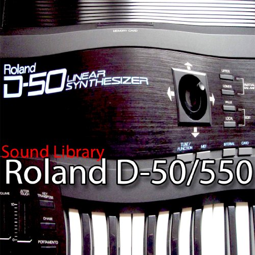 for ROLAND D-50/550 Large Original Factory and NEW Created Sound Library & Editors on CD or download by SoundLoad