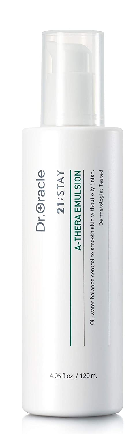 A-Thera Emulsion Face Moisturizer Moisturizing Facial Lotion for Sensitive Skin, (4.05fl.oz) Dermatologist Tested, 21;STAY by DR.ORACLE