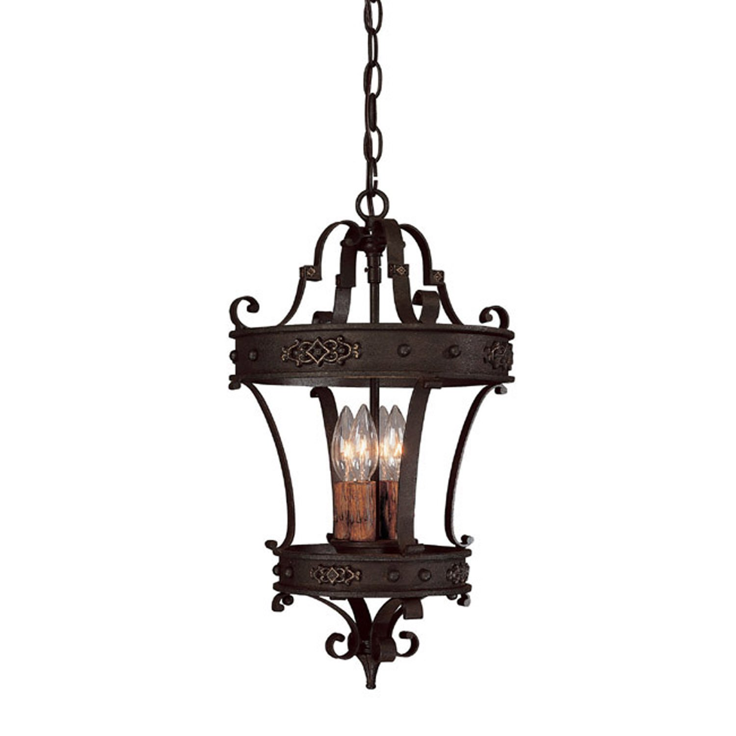 Capital Lighting 9354RI River Crest Collection 4 Light Foyer