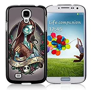 Disney The Nightmare Before Christmas Tattoo For Samsung Galaxy S4 i9500 Black TPU Case Cover