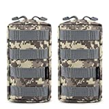 FUNANASUN 2 Pack Molle Pouches - Tactical Compact...
