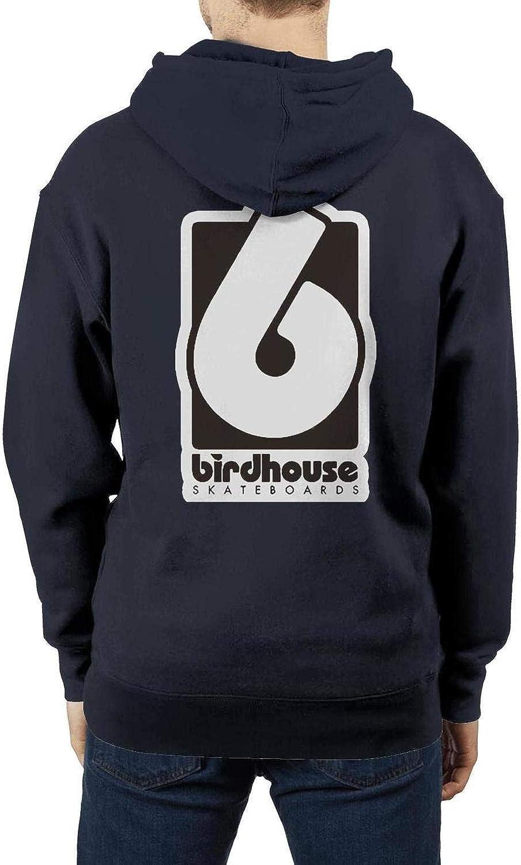Heavy Blend Pullover Sweatshirt Hooded Sweatshirt Sportwear Hoodie for Men Birdhouse-Skateboards-Logo