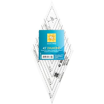 Amazon ez quilting 45 degree diamond template tool ez quilting 45 degree diamond template tool pronofoot35fo Choice Image