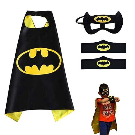 KID Super Eroe Batman MASK COSPLAY COSTUME HALLOWEEN COSTUME PARTY ACCESSORIO