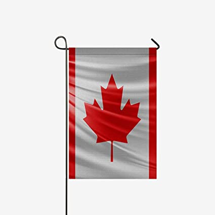 Amazon Com Interestprint Waving National Flag Of Canada Decorative