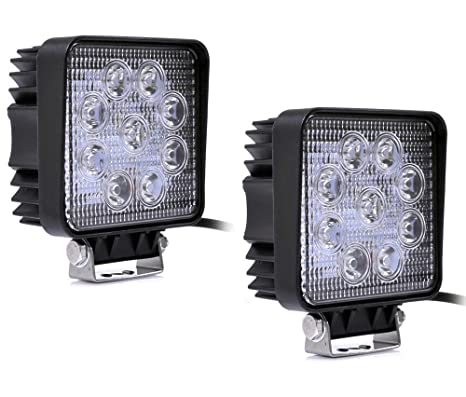 QXXZ 2 X Proyector LED 27W 9-30V Que Trabaja 2500Lumen Y Lámpara ...