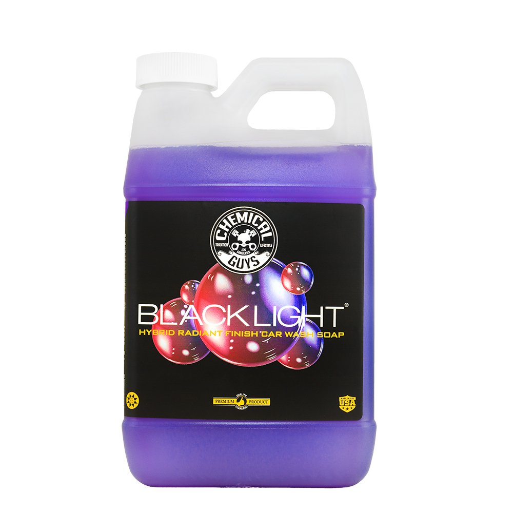 Chemical Guys CWS61964 Black Light Hybrid Radiant Finish Car Wash Soap (64 oz - 1/2 Gallon) by Chemical Guys (Image #1)
